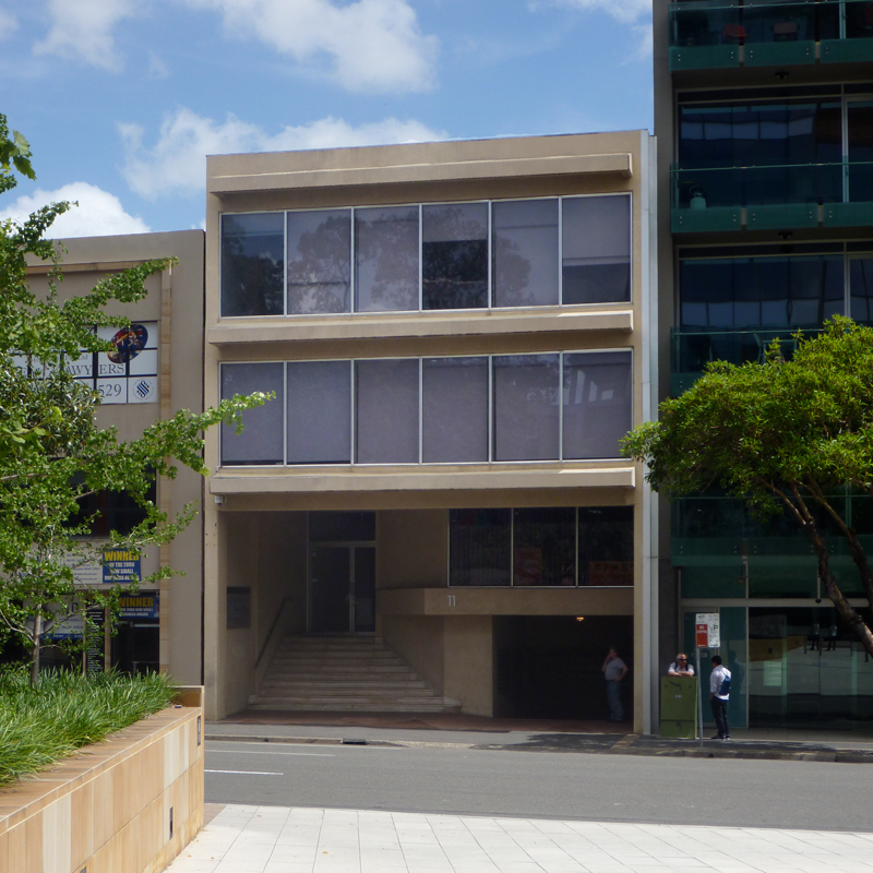 Photo of our 1/11 George Street building.